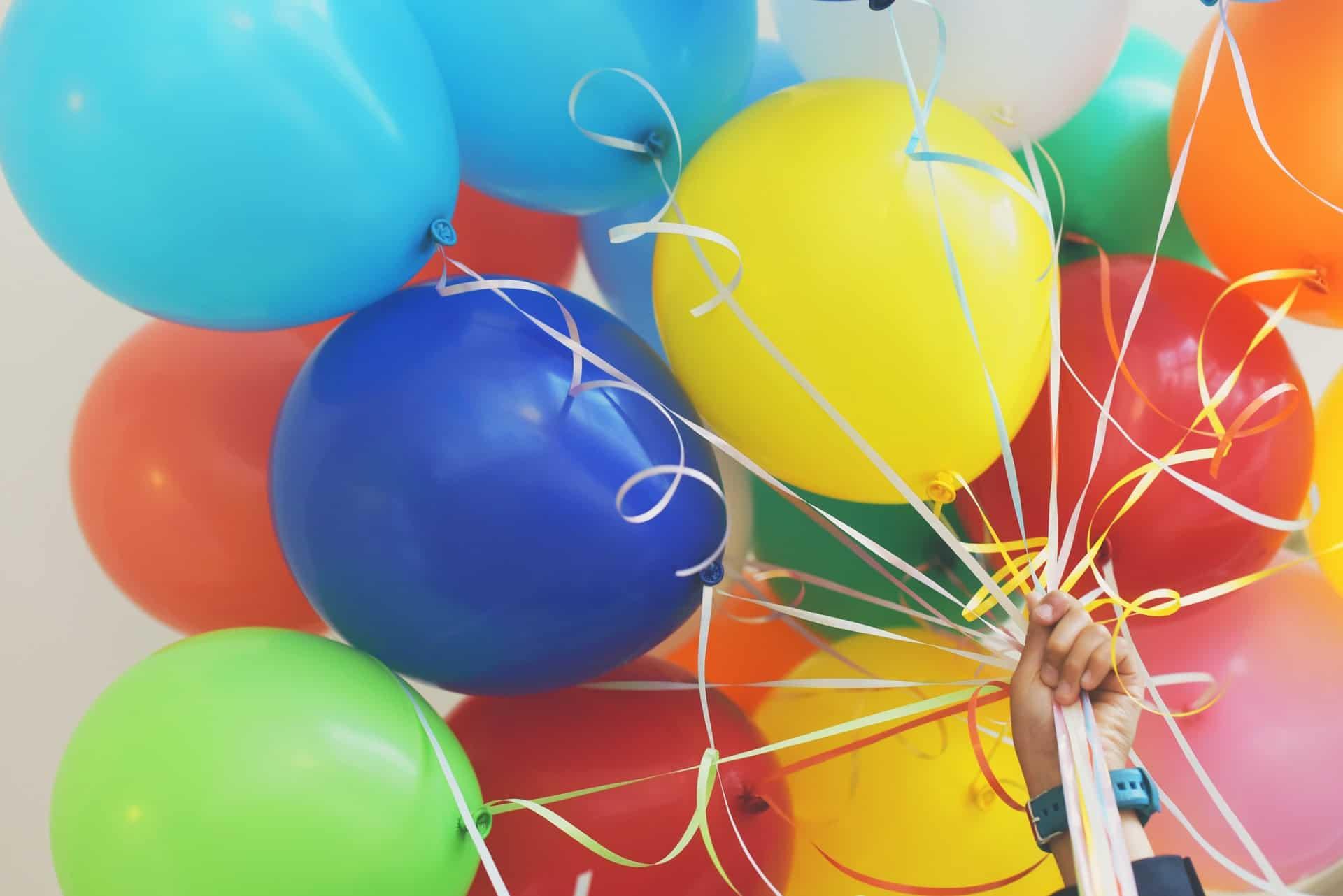 Hinchar inflar globos helio lanzarote